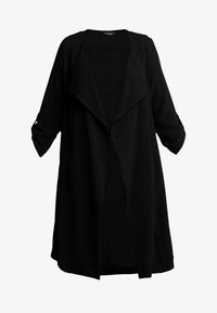 Evans - LONGLINE JACKET - Krátký kabát - black - 4