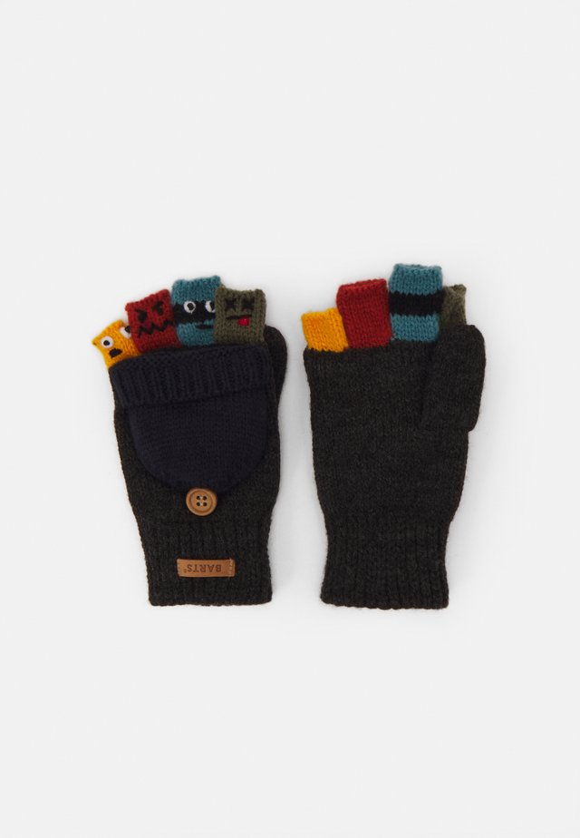 PUPPETEER BUMGLOVES - Fingervantar - dark heather