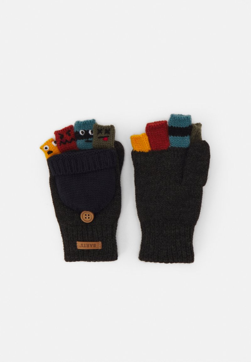 Barts - PUPPETEER BUMGLOVES - Rukavice - dark heather