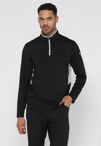 Puma Golf - ROTATION - Funkční triko - black heather - 0
