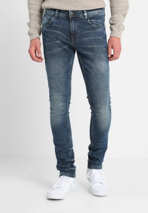 CULVER PANTS - Jeans Skinny Fit - stone blue denim