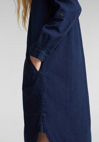 Esprit - Shirt dress - blue dark wash - 4