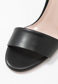 HUGO - PIPER  - Sandalias de tacón - black - 2