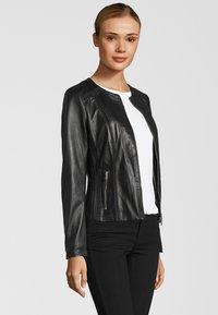 KRISS - Leather jacket - black - 3