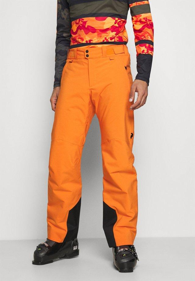 PANT - Ski- & snowboardbukser - orange altitude