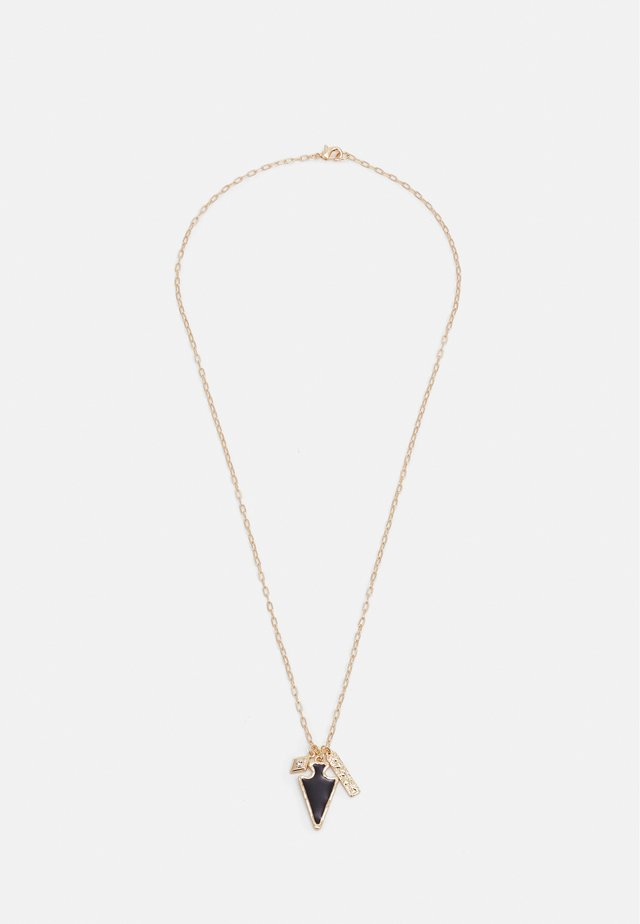 TRIPLE CHARM PENDANT - Ketting - gold-coloured