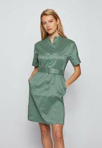 BOSS - DASHILA - Abito a camicia - light green - 0