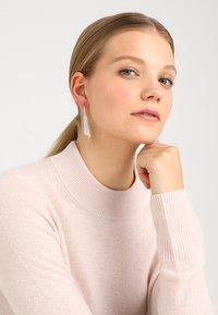 Swarovski - FIT - Earrings - silver-coloured - 1
