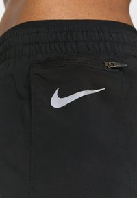 Nike Performance - TEMPO LUXE SHORT  - Sports shorts - black/silver - 4