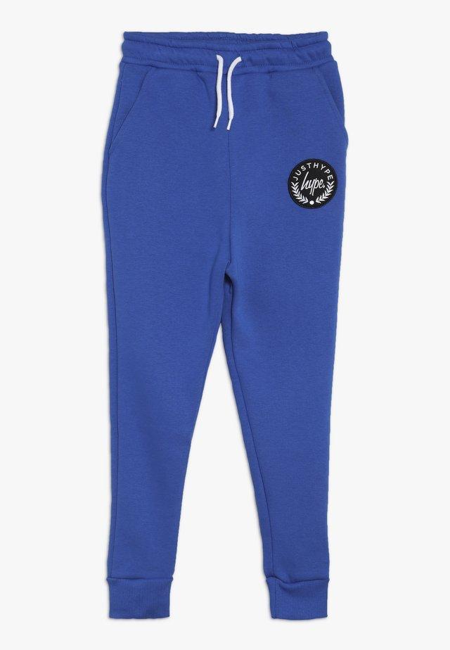KIDS CREST - Pantalones deportivos - blue