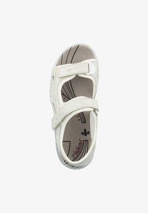 Walking sandals - white-silver-pure white (66966-80)
