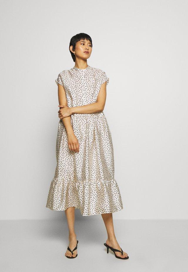 MARGO LONG DRESS  - Maxi šaty - off-white/black