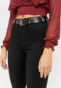 TALLY WEiJL - Jeans Skinny Fit - blk - 3
