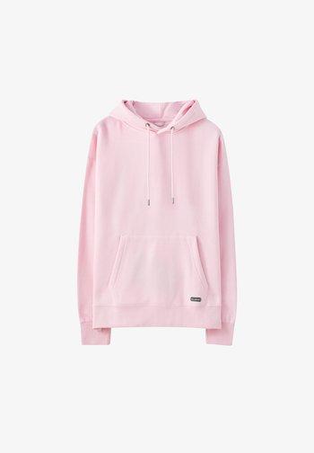 Felpa con cappuccio - pink