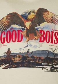 GOODBOIS - FRONTIER HOODY - Mikina - beige - 2