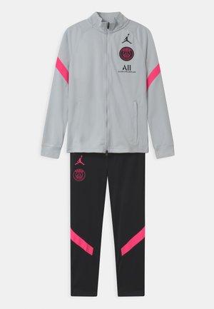 PARIS ST GERMAIN SET UNISEX - Club wear - pure platinum/black