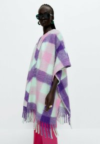 Uterqüe - Cape - purple - 3