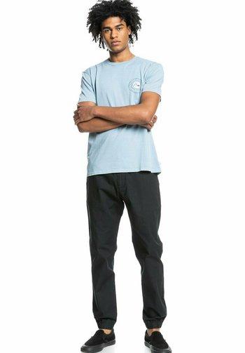 SILENT DUSK SS - Print T-shirt - citadel blue