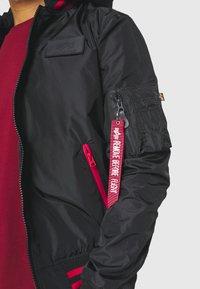 Alpha Industries - HOOD DEFENSE - Summer jacket - black - 6