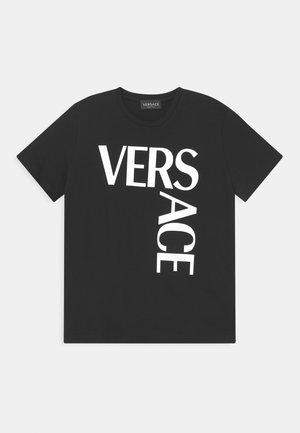 UNISEX - T-Shirt print - nero/bianco