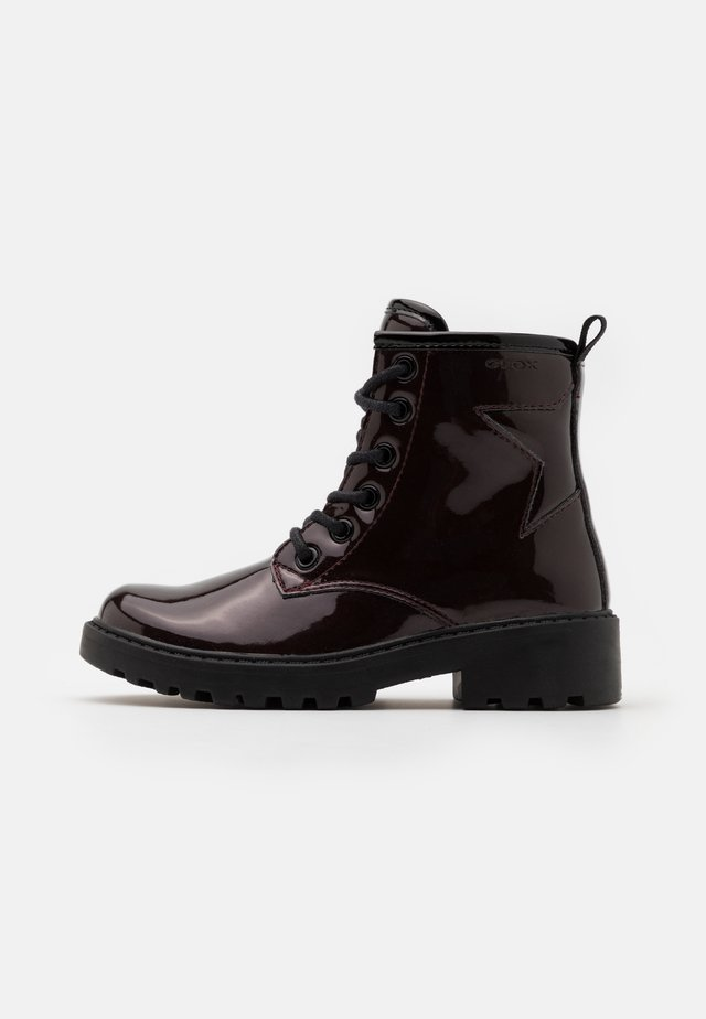 CASEY GIRL - Lace-up ankle boots - dark burgundy