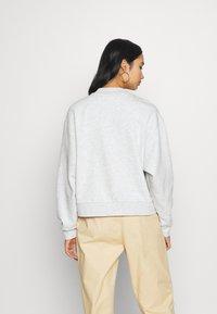 Weekday - AMAZE  - Sweatshirt - light grey - 2