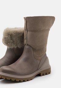 ECCO - TREDTRAY - Winter boots - beige - 5