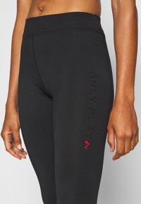 ONLY PLAY Tall - ONPPERFORMANCE - Leggings - black/red - 4