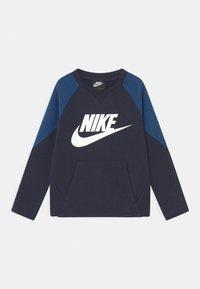Nike Sportswear - MIXED MATERIAL CREW - Sweatshirt - blue - 0