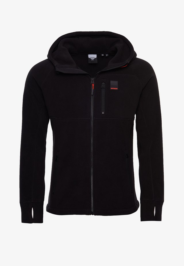 POLAR FLEECE - Collegetakki - black