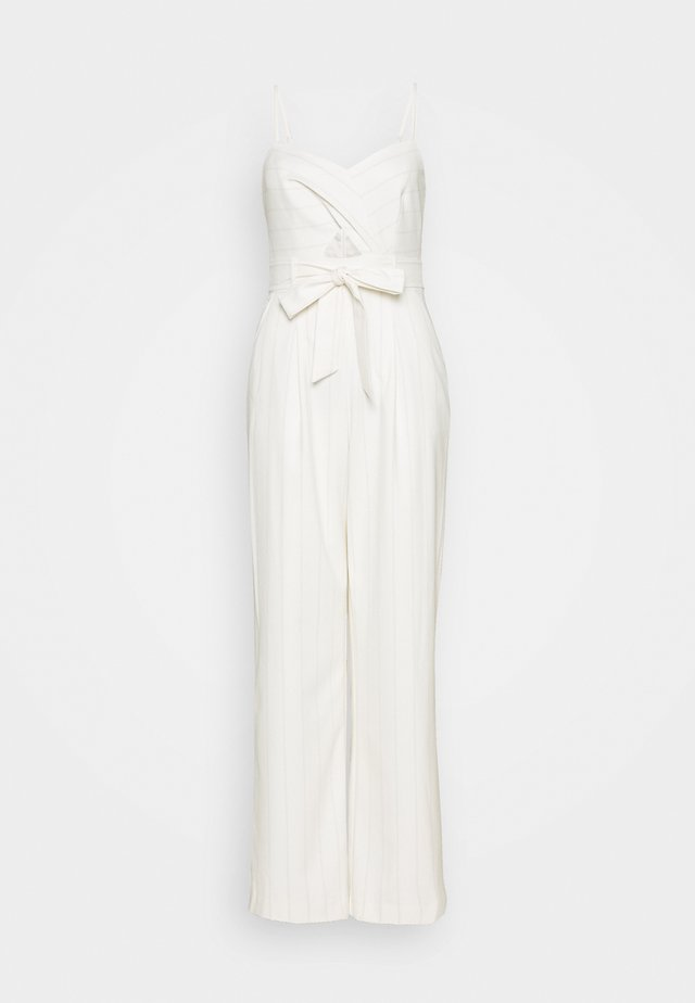 TUCK  - Jumpsuit - white