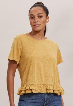 SALLY - Print T-shirt - golden biscotti