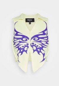 NEW girl ORDER - TRIBAL BUTTERFLY  - T-shirt print - yellow - 5