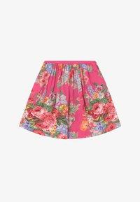 Polo Ralph Lauren - FLORAL BOTTOMS - Áčková sukně - pink/multi-coloured - 2