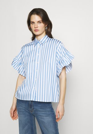 AINA - Button-down blouse - leo blau