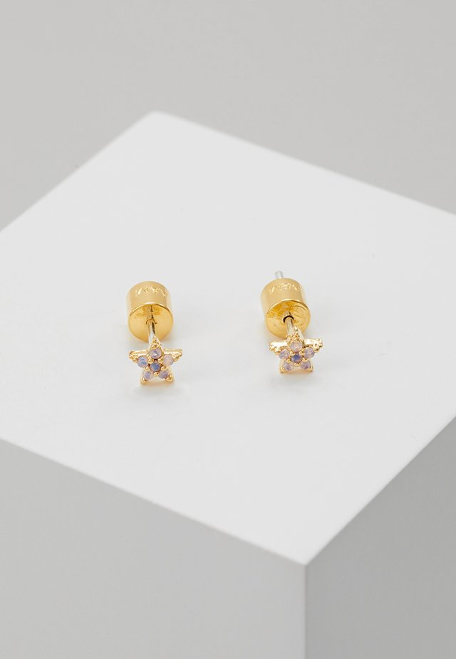 MYSTIC STAR STUD EARRINGS - Pendientes - gold-coloured