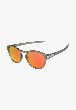 LATCH - Sunglasses - grey ink/ruby iridium