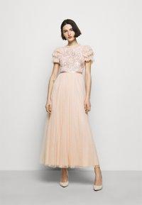 Needle & Thread - SHIRLEY RIBBON BODICE DRESS - Iltapuku - pink encore - 1