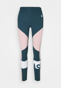 ASICS - COLOR BLOCK CROPPED  - Tights - magnetic blue - 3