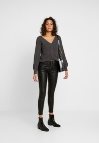 ONLY - ONLLENA - Trousers - black - 2