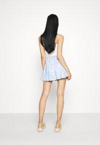 NEW girl ORDER - HELLO SKIRT - Minijupe - blue - 2