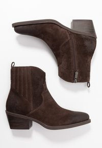 Marco Tozzi - Cowboy/biker ankle boot - mocca - 3