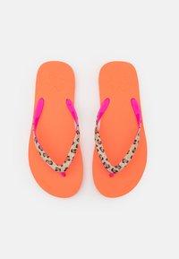 flip*flop - EASY ANIMAL - Teensandalen - cantaloupe/neon lilac - 5