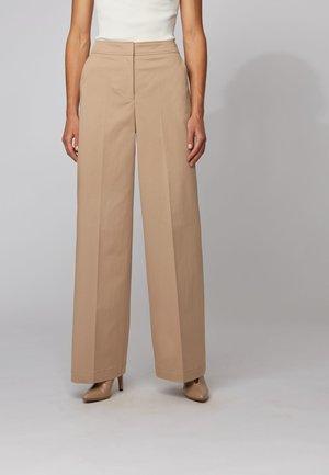 TADRIESA - Trousers - beige