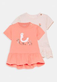 Staccato - 2 PACK - Print T-shirt - apricot/light pink - 0
