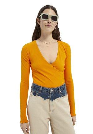 WRAPOVER - Longsleeve - bright orange
