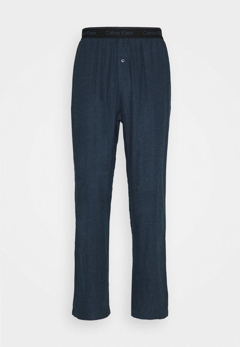 Calvin Klein Underwear - SLEEP PANT - Pyjama bottoms - blue