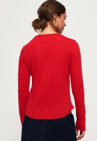 Superdry - Long sleeved top - red - 1