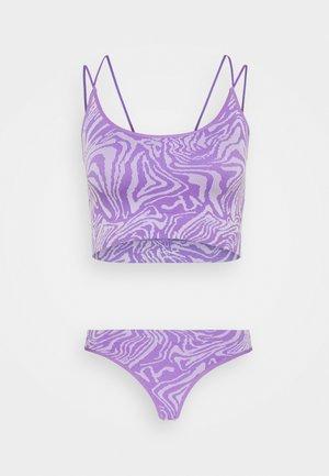 MARKIE DESIGN SET - Thong - purple