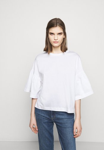 FIMONI - Print T-shirt - weiss